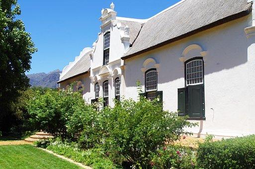 South Africa, Western Cape, Cape Dutch, Architecture