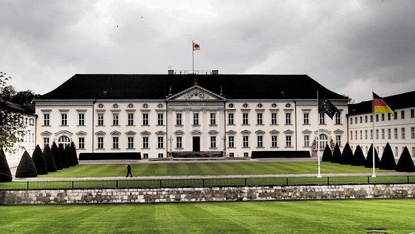 Berlin, Castle Bellevue, Germany, Landmark, Building
