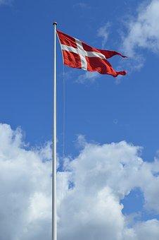Danish Flag, Denmark, Flag, Danish, Symbol, National