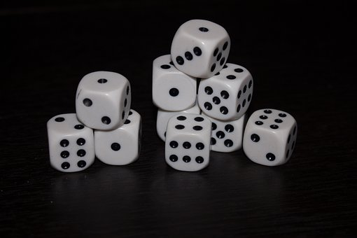 Dice, Black, You Say, Cube, Random, Game, Good Luck