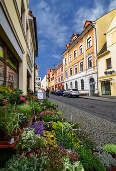 Lutherstadt, Eisleben, Saxony-anhalt, Germany, Old Town
