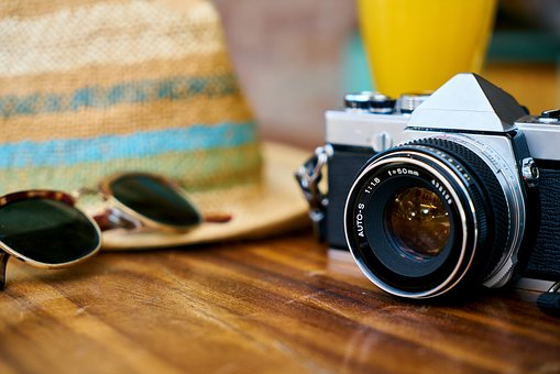 Old, Camera, Lens, Hat, Holiday, Eyewear, Entertainment