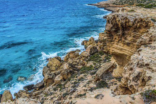 Cliff, Sea, Wilderness, Landscape, Coast, Scenery