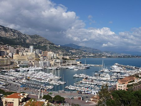 Monaco, Bay, Monte Carlo, Mediterranean, Sea, Luxury