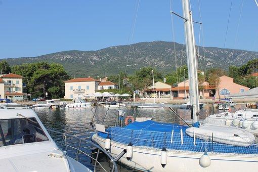Port Nerezisce, Mali Losinj, Croatia