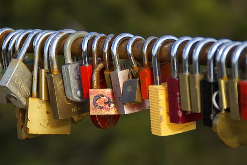 Love Locks, Love, Romance, Symbol, Castle, Castles