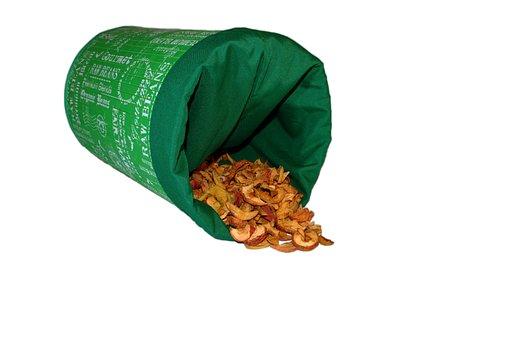 Box, Storage, Fruit, Apple, Cut, Dried, Dried Fruits