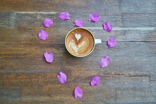 Coffee, Cafe, Table, Food, Drink, Background