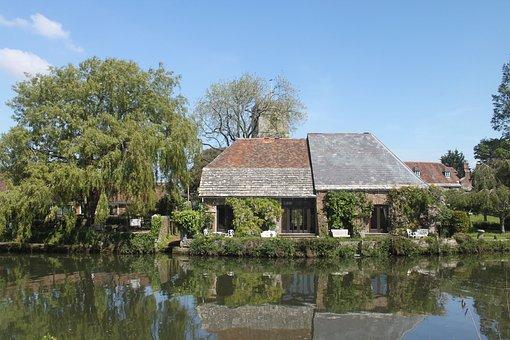 Wareham, Dorset, Travel, Water, Building, Vacation
