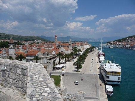 Trogir, Croatia, Mediterranean, Town, City, Adriatic