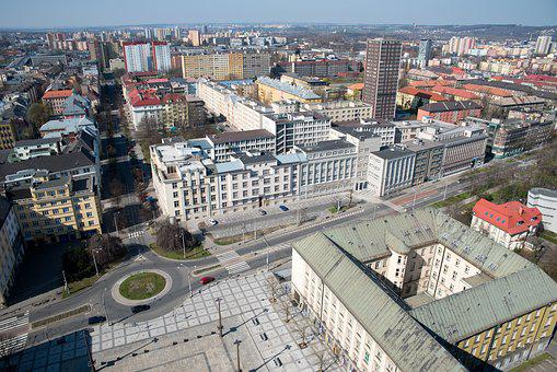 Ostrava, City, Urban General Views, Ostrava Lookout