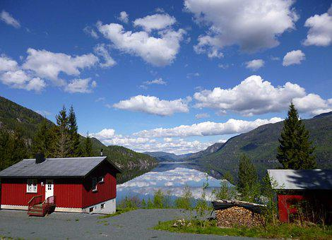 Telemark Canal, Norway, View