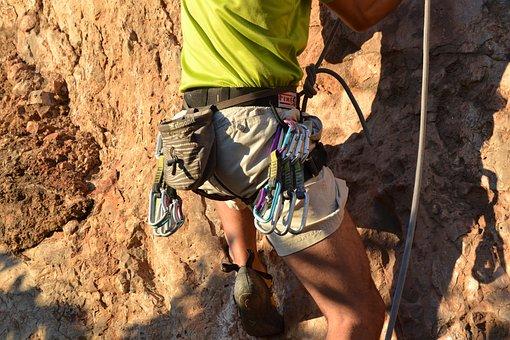 Jeans, Escalation, Adventure, Hiking, Mountaineer