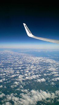Cloud, Winglet, Horizon, Aircraft, Europe