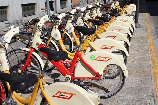 Bike Sharing, Bicycles, Sustainable Mobility
