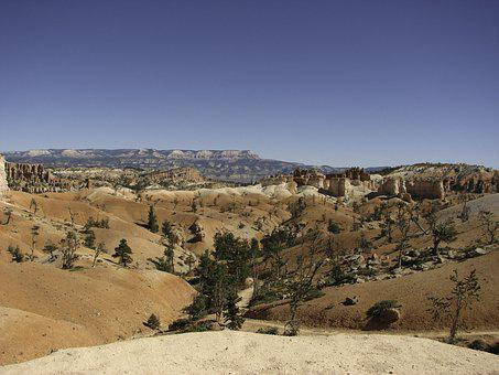 National Park, Usa, Bryce Canyon