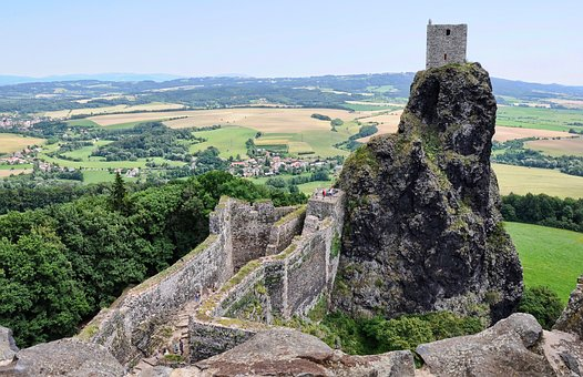Ruins, Sights, Trosky Castle, Castle, Middle Ages