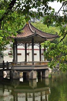 Chinese Pavilion, Chinese Kiosk, Chinese Gazebo