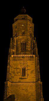 Daniel, St George's Church, St Georg, Night Photograph