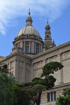 Palau Nacional, Barcelona, National Palace, Dome