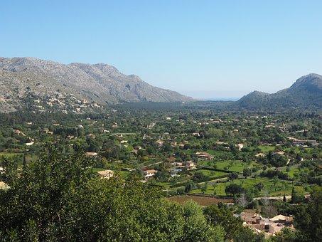 Potenca, Mallorca, City, Holiday, Spain, Outlook