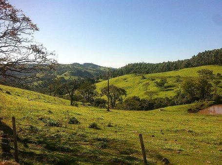 Landscape, Sky, Blue Sky, Brazil, Beauty, Horizon