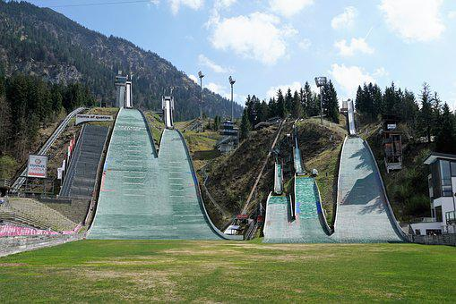 Oberstdorf, Hill, Allgäu, Concrete, Ski Jump, Ski Sport