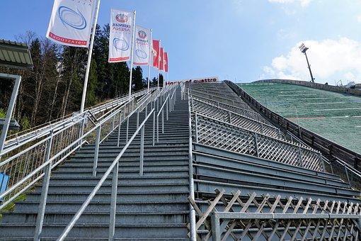 Oberstdorf, Hill, Ski, Ski Jump, Ski Sport, Allgäu