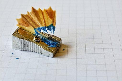 Sharpener, Pencil, Office, School, Education