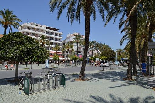 San Antonia, Ibiza, Town, Balearic, Spain, Sea, Summer