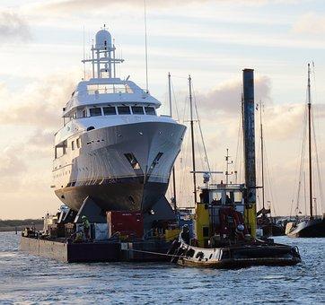Yacht, Tug, Heavy Duty, Special Transport, Ship