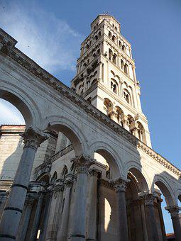Diocletian's Palace, Split, Croatia, Town, Palace, Old