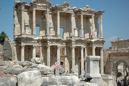 Celsus, Library, Turkey