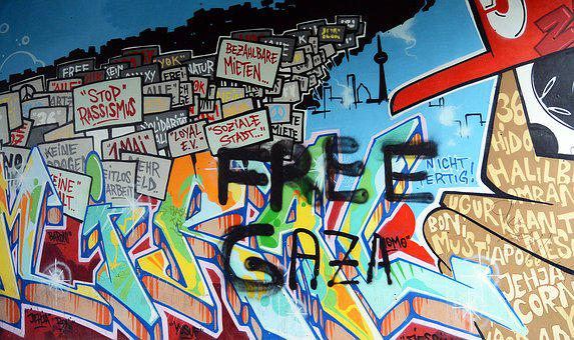 Graffiti, Street Art, Urban Art, Mural, Art, Spray