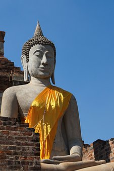Buddha, Thailand, Ayutthaya, Temple, Buddhism, Religion