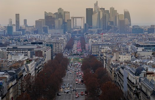 Paris, Center, City, Historical Center, Architecture