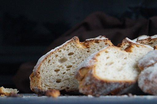 Bread, Crispy, Bake, Presentation, Crust, Flour