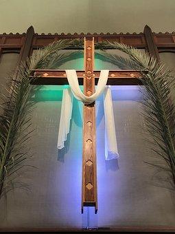 Easter Sunday, Easter Cross, Christian, Christianity