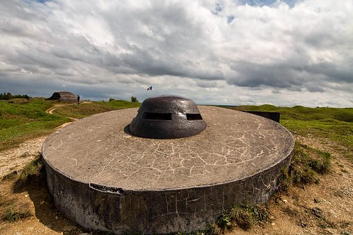 Thin, Fort Douamont, Fort, Douamont, First World War