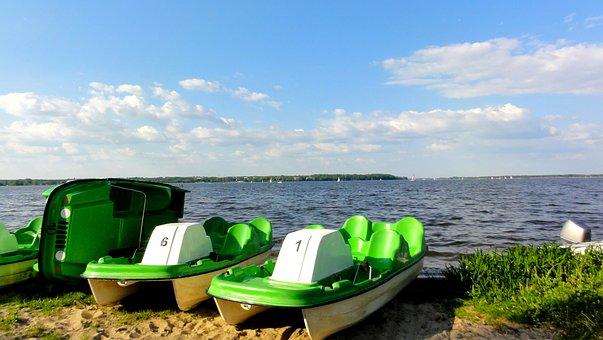 Lagoon, Geovita Jadwisin Rests, Zegrze, Lake, The Sun