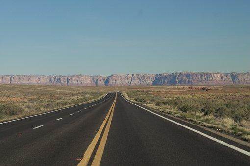 Grand Canyon, Road, Arizona, Canyon, Nature, Grand