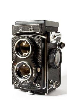 Camera, Analog, Twin-lens Camera, Hipster, Old Camera