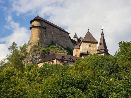 Castle, History, Orava