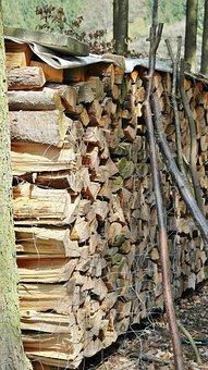 Wood, Holzstapel, Tree Trunks, Forestry, Log