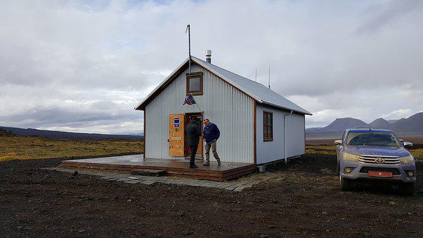 Cabin, Iceland, House, Cottage, Hut, Nordic, Travel