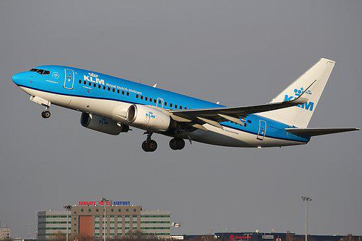 Klm, Blue, Planespotting