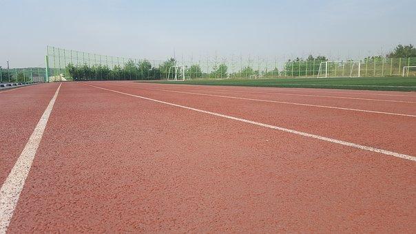 Playground, Track, Running, Marathon, Racing, The