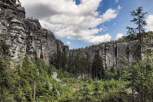 Adršpašské Rocks, Rocks, Nature, Rock, Teplice Rocks