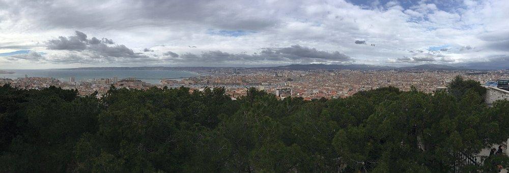 Panorama, Marseille, City, Notre-dame-de-la-garde