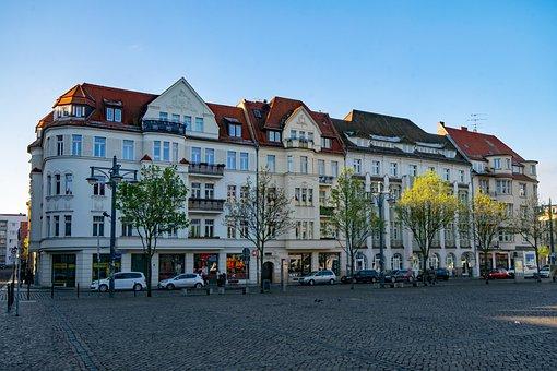Hall, Saale, Saxony-anhalt, Germany, Historic Center